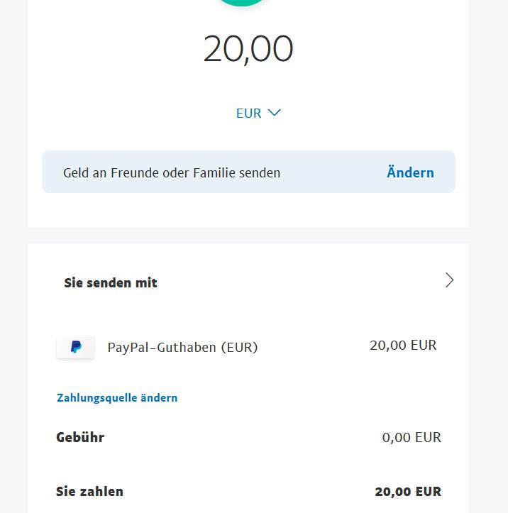 Paypal Freunde Und Familie Käuferschutz