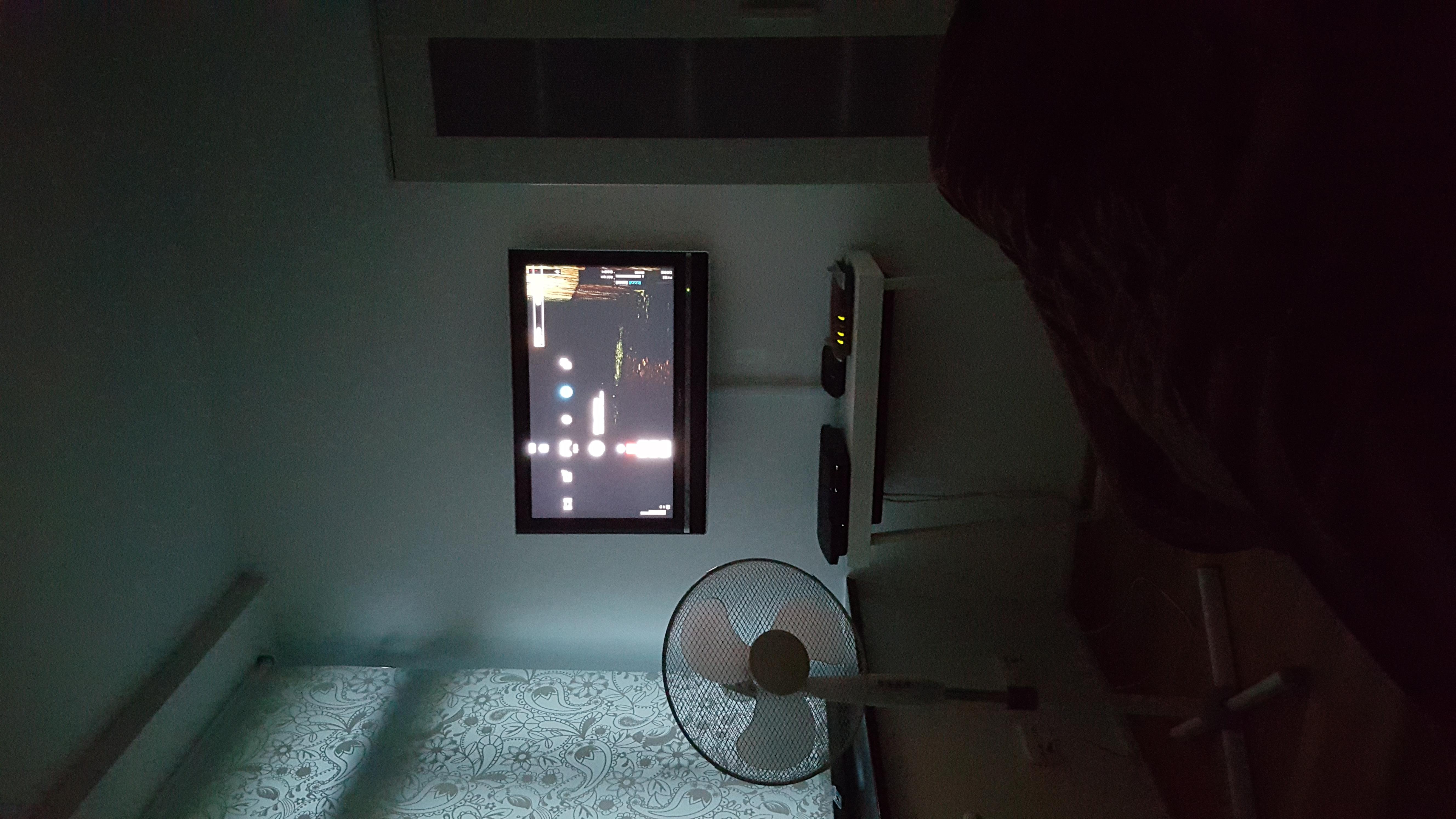 optimale höhe für 50zoll plasma fernseher im schlafzimmer