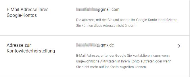 Google Konto Passwort Vergessen Bestätigungscode Per Mail Kommt