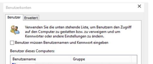 Passwort 10 login ohne Windows 10: