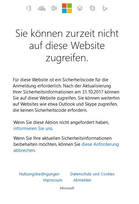 Skype anmeldung microsoft konto fehler