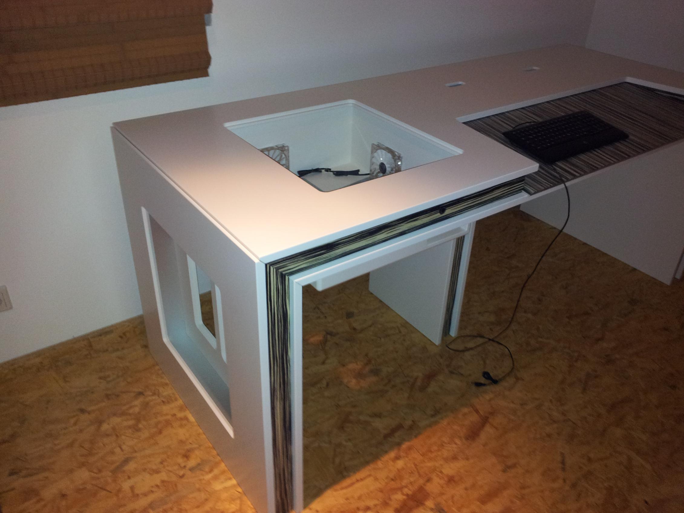Selbst Gebauter Computer Tisch Pc Im Tisch Computerbase Forum