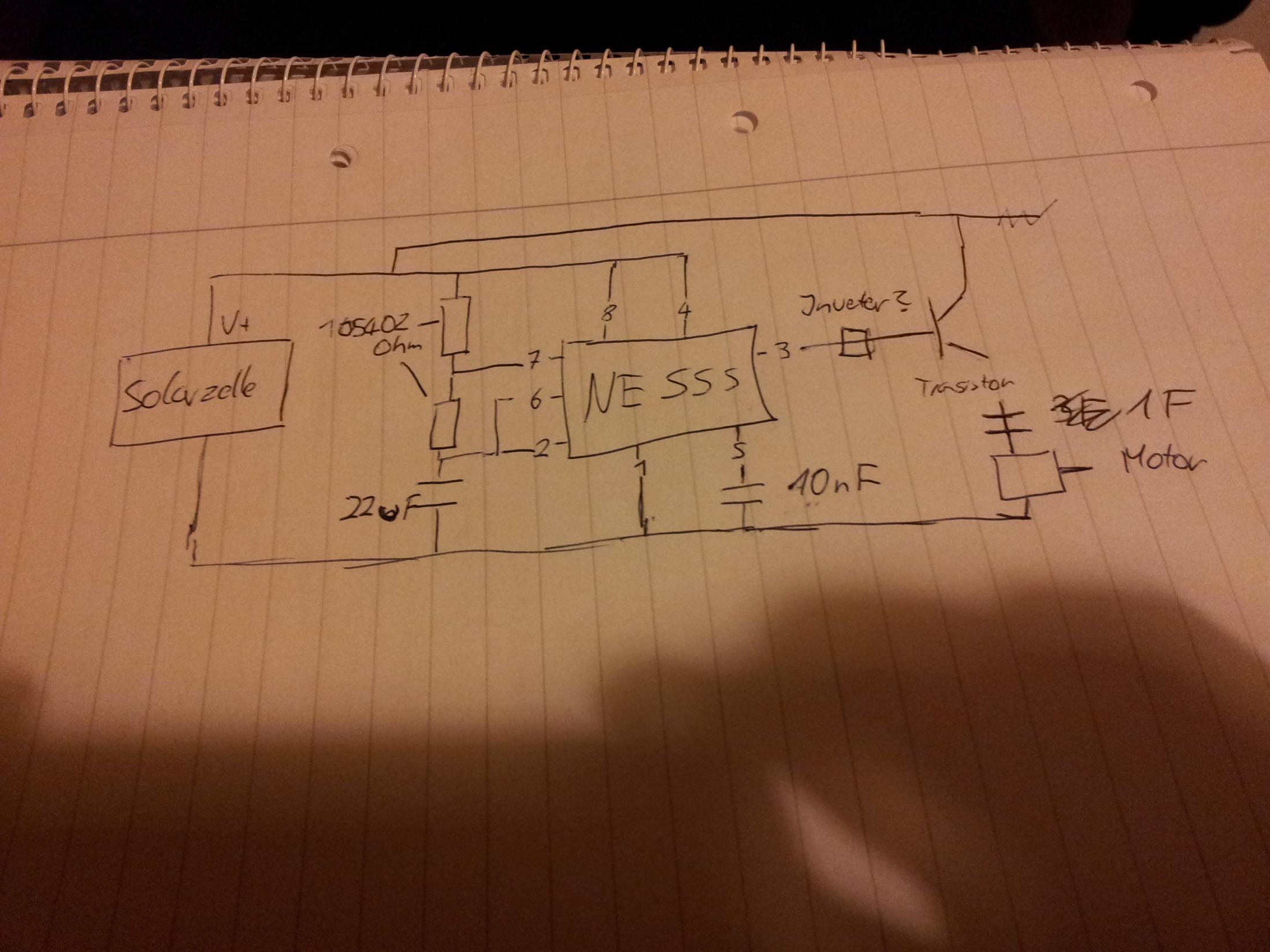 schaltplan f r ansteuerung von elektromotor computerbase. Black Bedroom Furniture Sets. Home Design Ideas