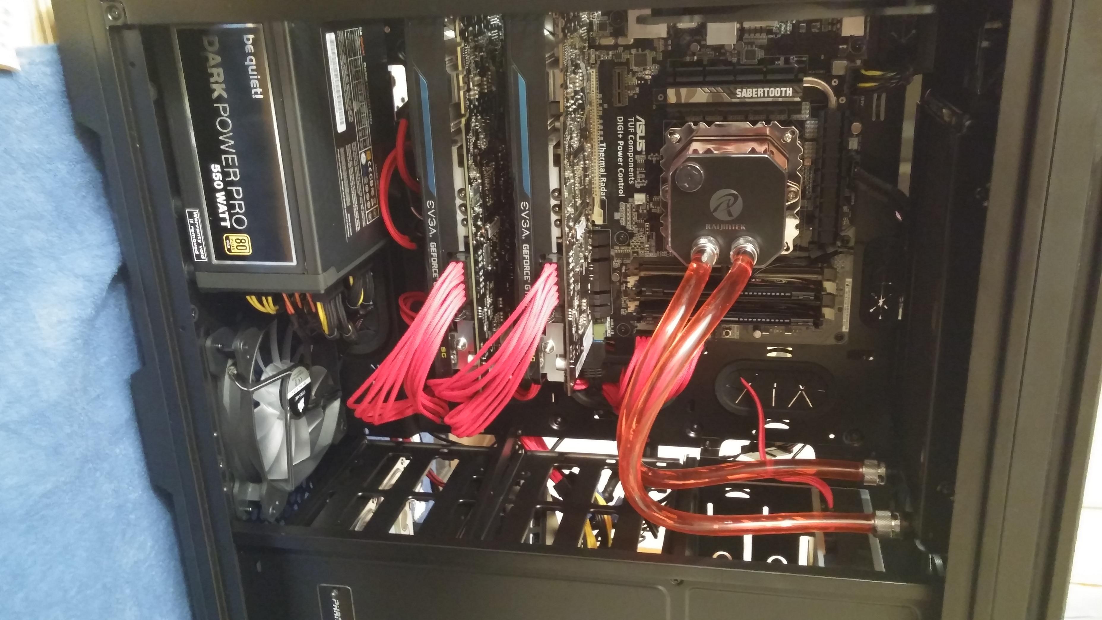 PCIe Kabel sauber führen / Generell Verkabelung - ComputerBase Forum