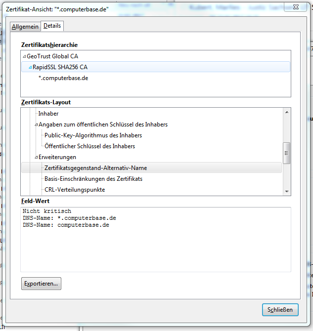 hMailServer und SSL/TLS   ComputerBase Forum