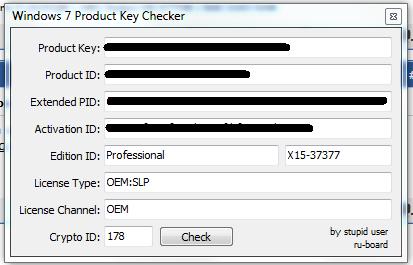 Windows Aktiviert nicht,Falsche Version ?oder nur 32Bit Key