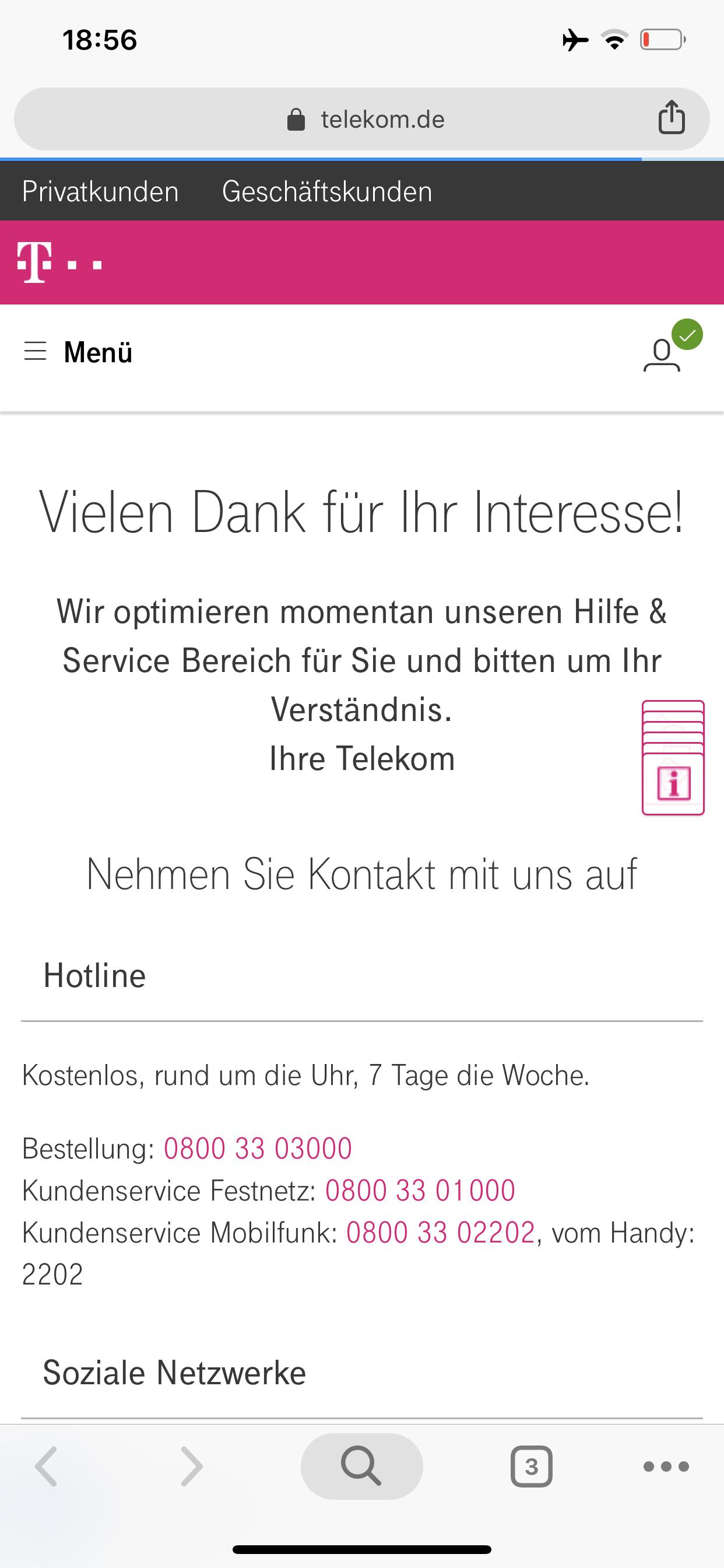 Rechnung Festnetz Telekom