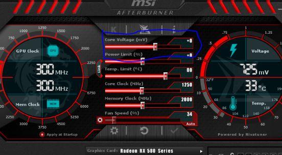 RX 580 Undervolting per Afterburner mögich ?   ComputerBase