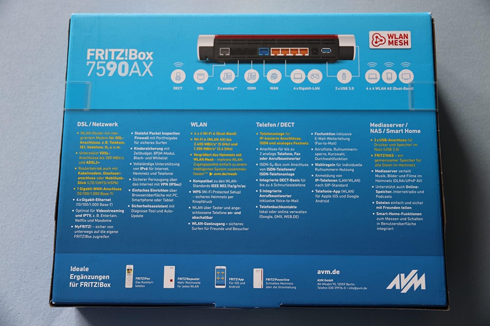 Fritzbox 20 AX Unterschiedliche Versionen im Umlauf ...