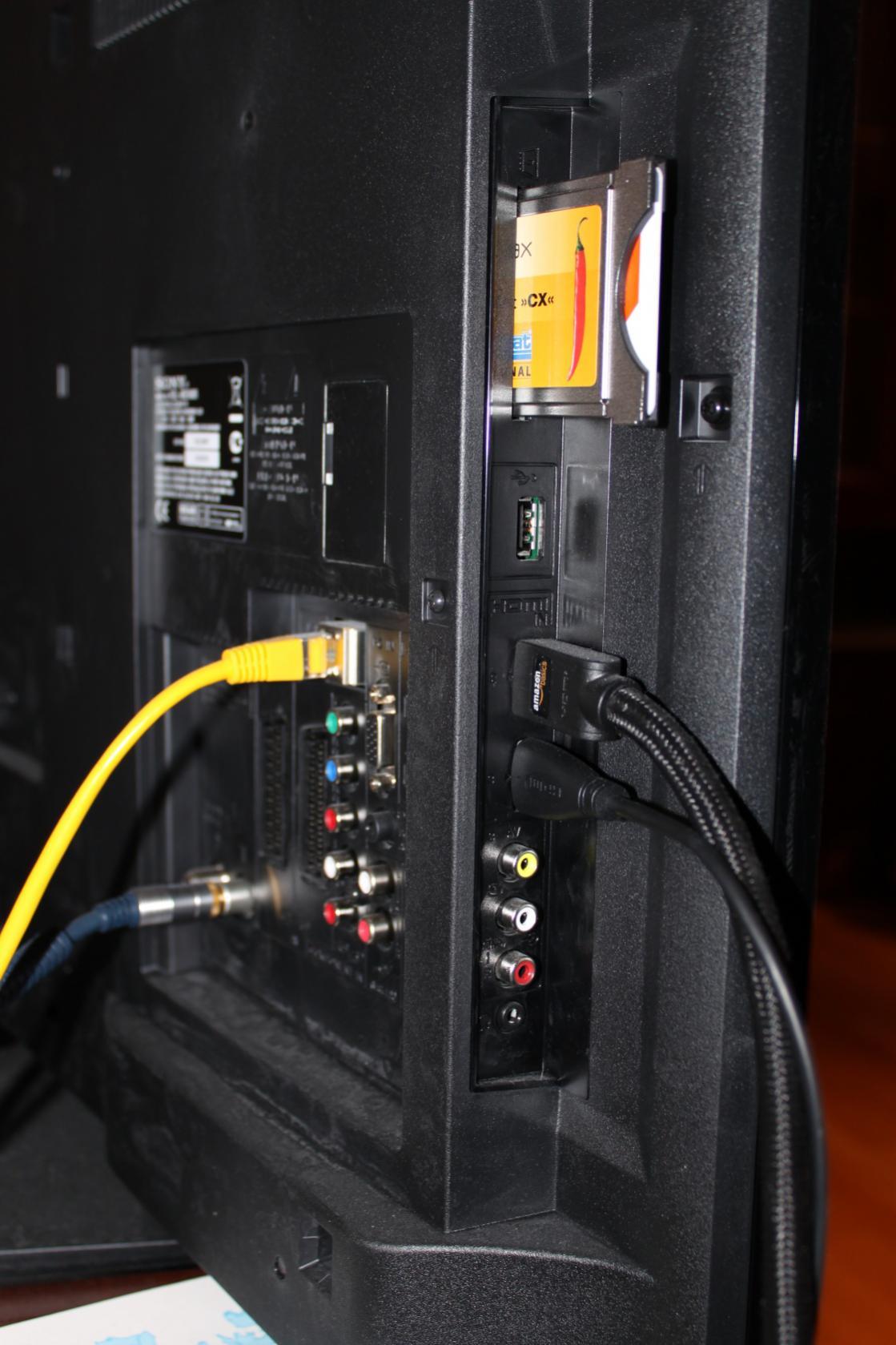 Leserartikel 40 Tv Sony Kdl 40ex605 Mein Kleines Review Audio Wiring Anschluesse1
