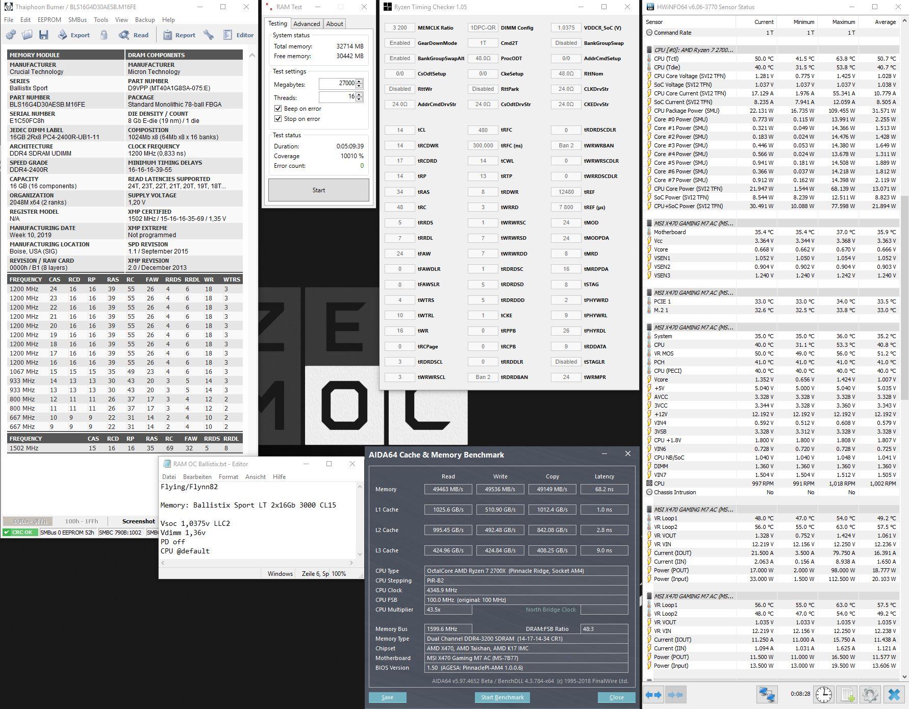 Ballistix 3200 14 1,36v karhu 10k% Bench2.jpg