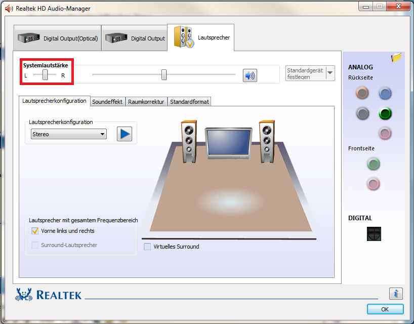 Logitech Z323 System - Linke Box plötzlich leiser - ComputerBase Forum