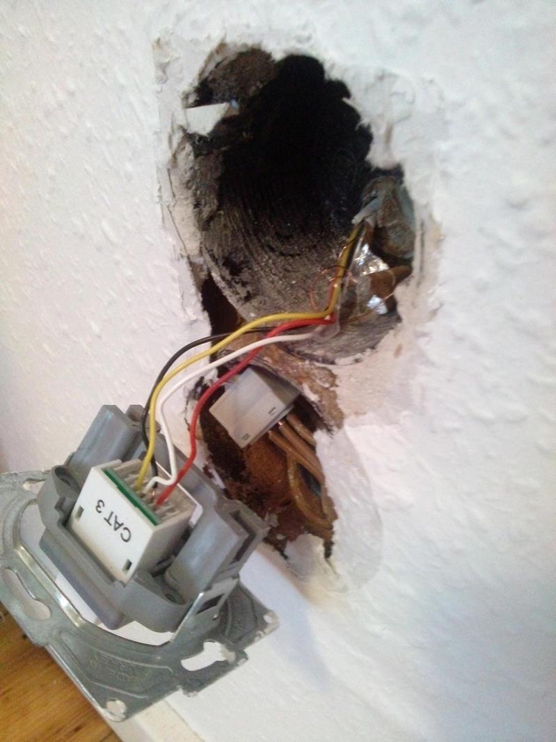 Netzwerkverkabelung im Altbau... Ist das wirklich ein CAT3 Anschluss ...