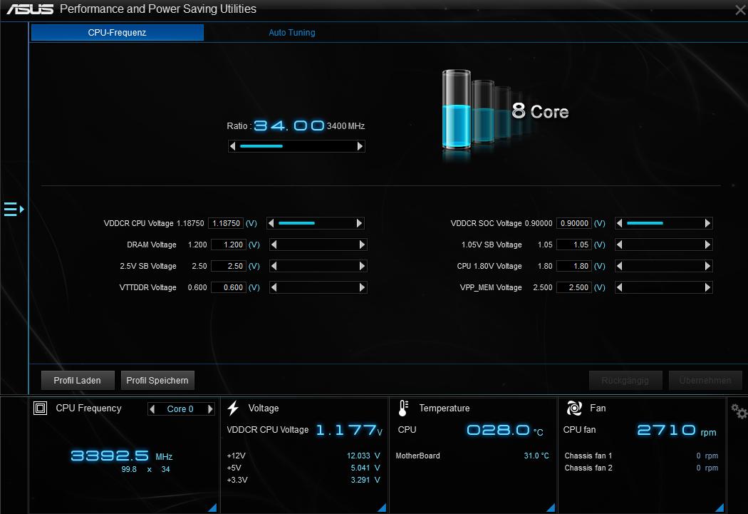 Ryzen 7 1700 + GTX 1080 -> 'low' performance | ComputerBase