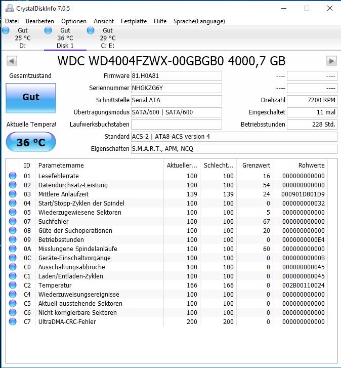 Klicke auf die Grafik für eine größere Ansicht  Name:Crystal Disk.jpg Hits:41 Größe:200,5 KB ID:659211