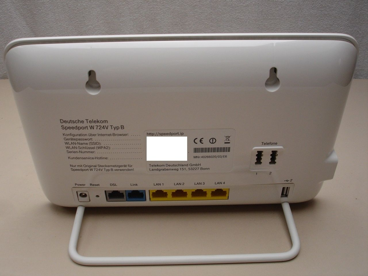 Telekom Router W724V an 1&1-DSL-Anschluss - ComputerBase Forum