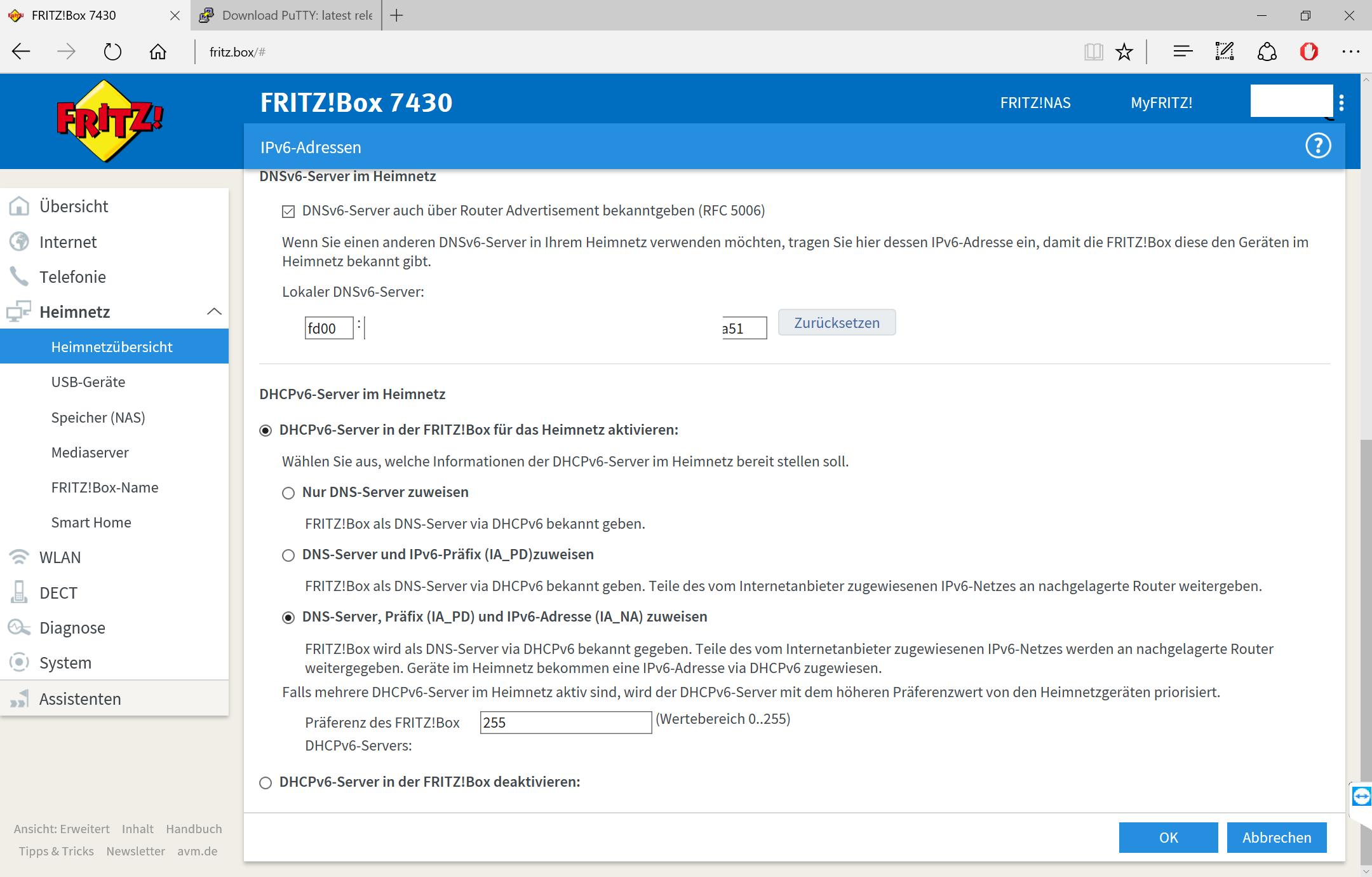 Fritz Box Ds Lite Portfreigabe Für Ipv6 Computerbase Forum