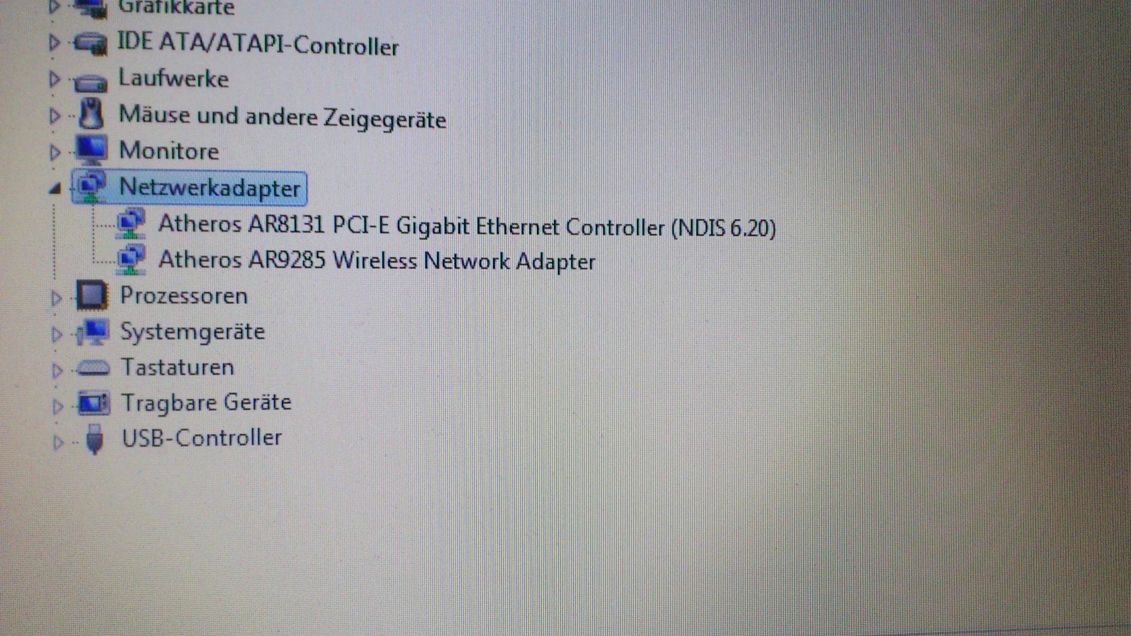 WLAN bei Asus k72f series erkennt keine drahtlosen Netzwerke ...