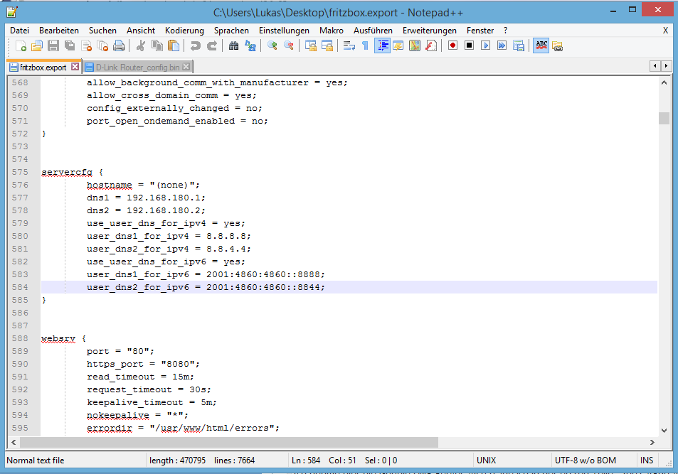 Klicke auf die Grafik für eine größere Ansicht  Name:fboxipv6-dns.PNG Hits:191 Größe:47,6 KB ID:481112