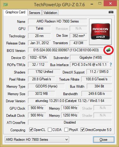 Klicke auf die Grafik für eine größere Ansicht  Name:GPU-Z.png Hits:362 Größe:33,5 KB ID:395413