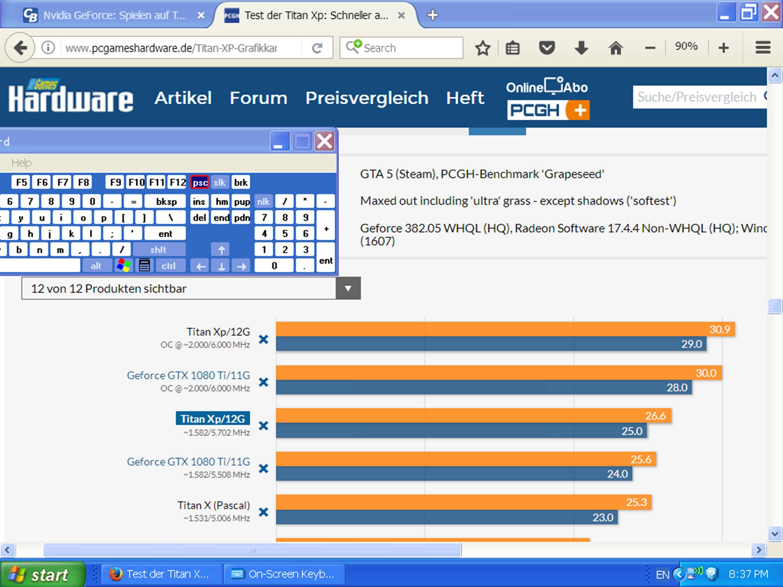 Klicke auf die Grafik für eine größere Ansicht  Name:GTA V maxed out 4K-UHD (Titan Xp).jpg Hits:150 Größe:417,3 KB ID:669327