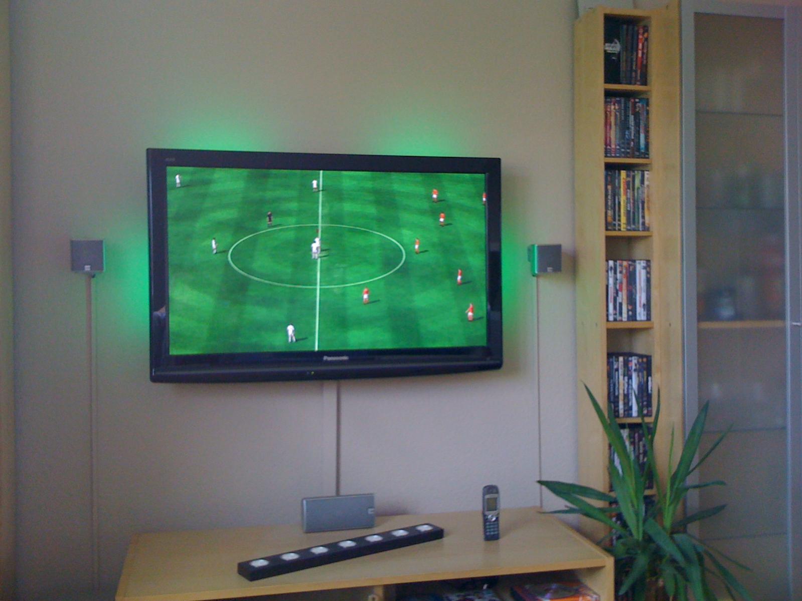 Tv wandhalterung selber bauen  Wandmontage 55