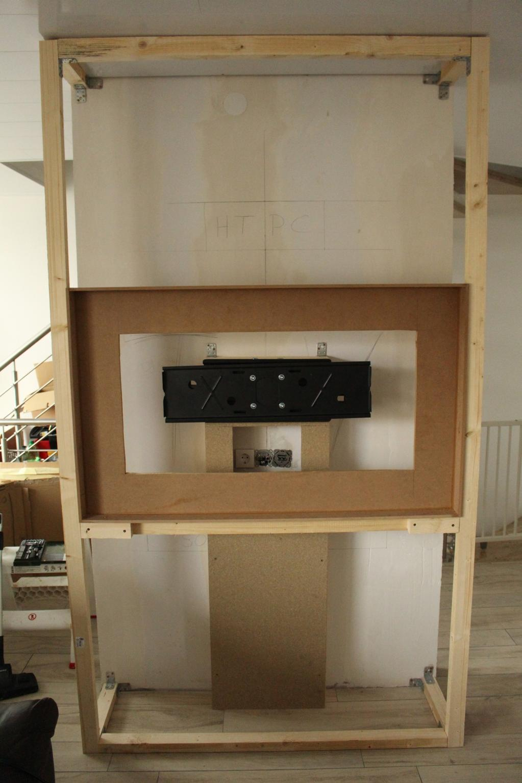 Projekt] Wohnwand mit integriertem TV, Soundbar & HTPC ...