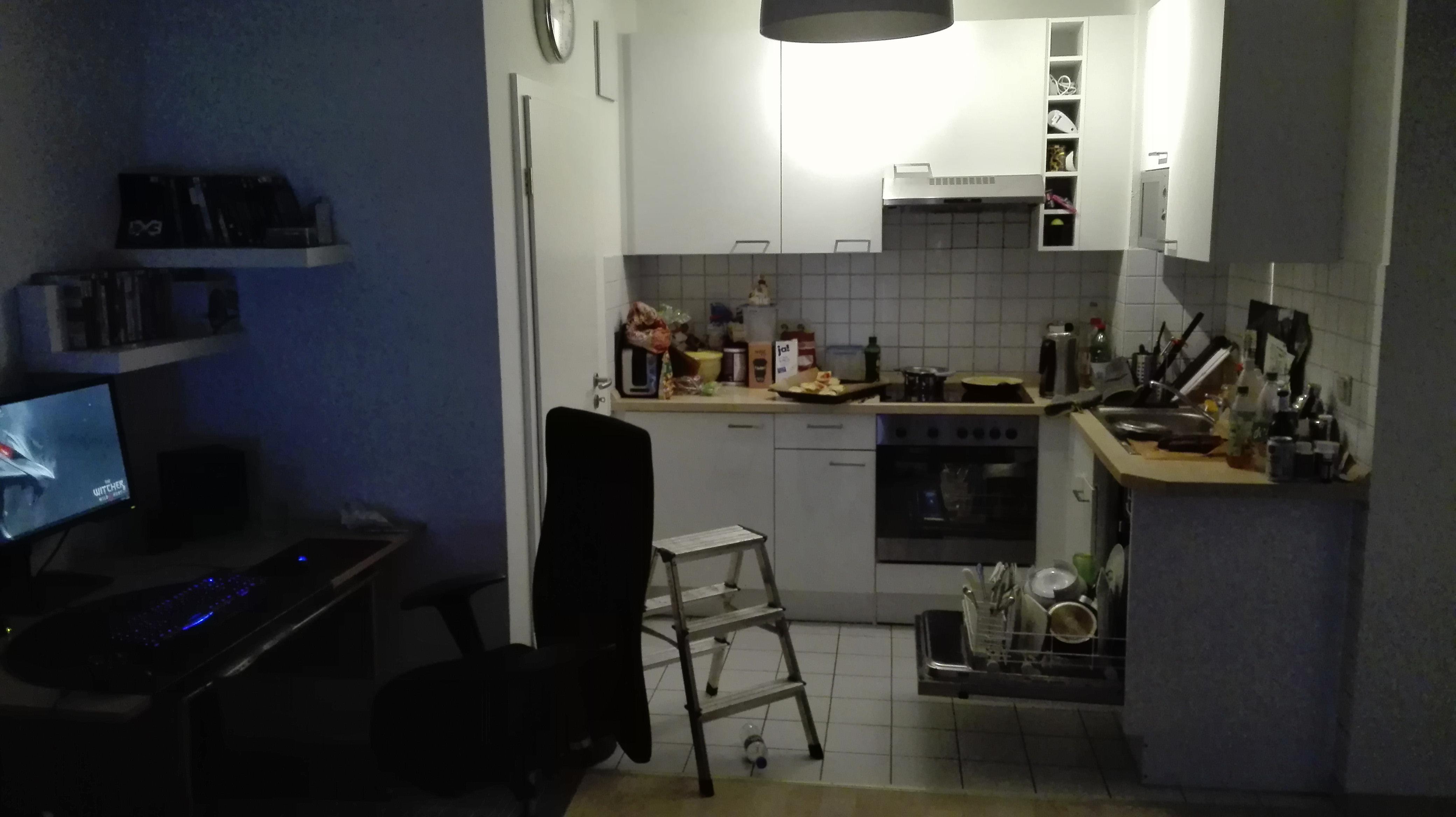 Gaming PC neben Küche schädlich? (kleine Wohnung) | ComputerBase Forum