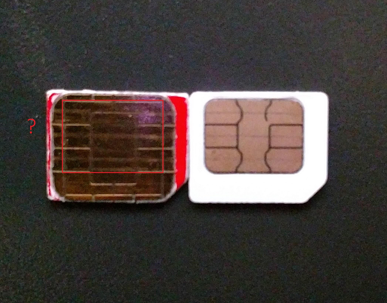 Nano Sim Karte Schablone Originalgrosse.Sim Karte Zu Gross Fur Nano Sim Computerbase Forum