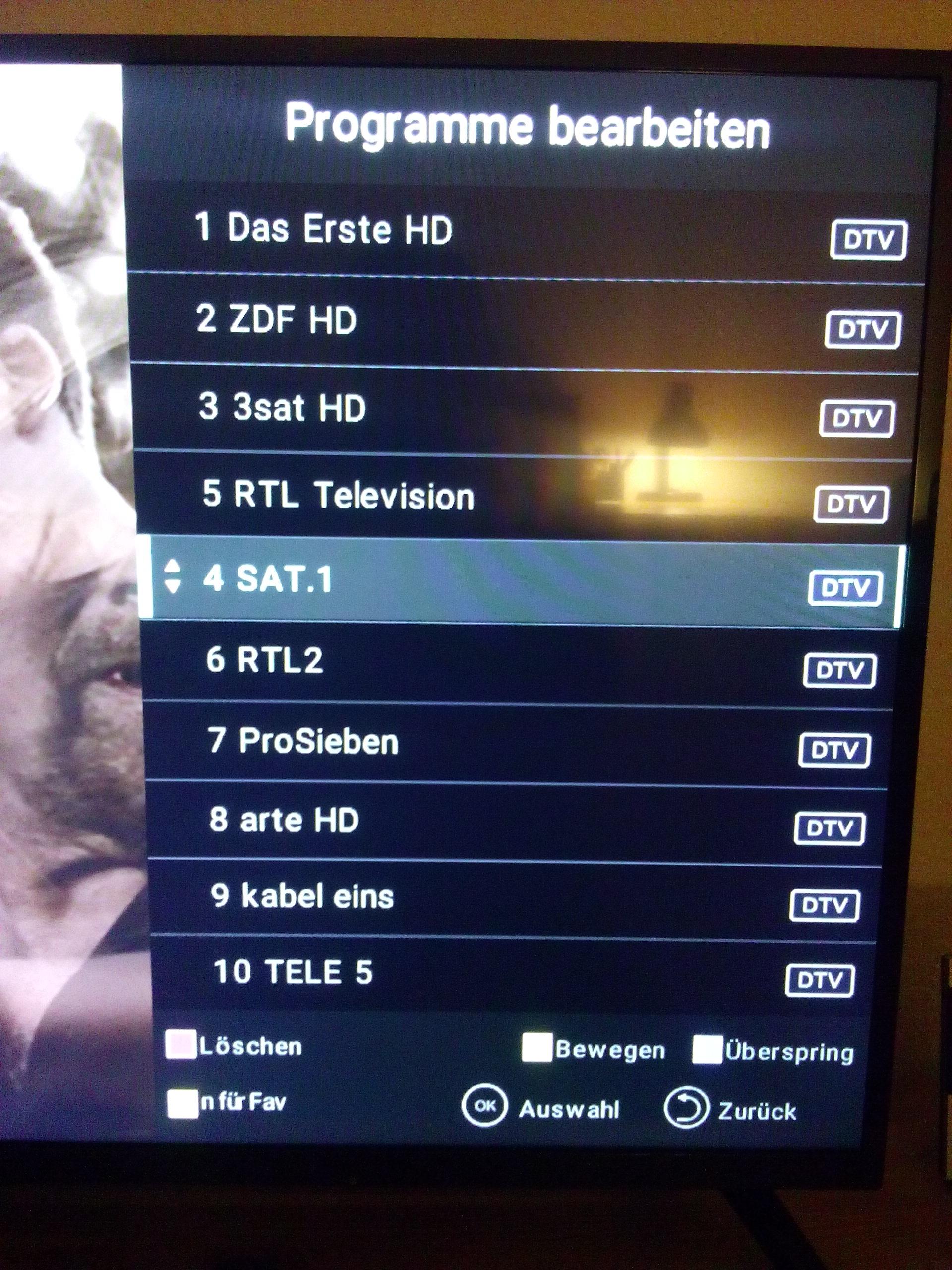 Philips Tv Sender Sortieren