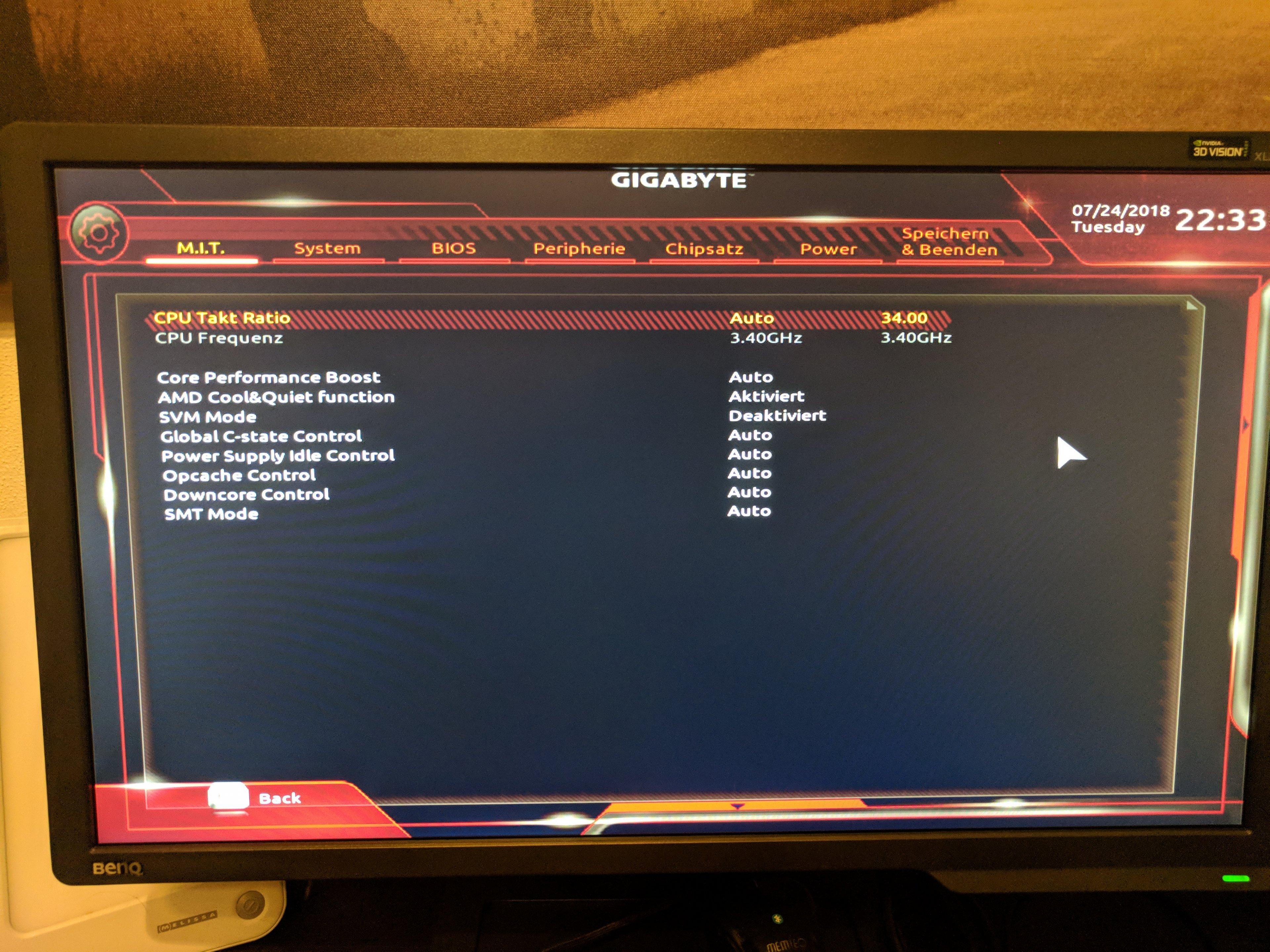 Ryzen 2600 / x470 Aorus Ultra Gaming / RX 580 = BSOD & Game