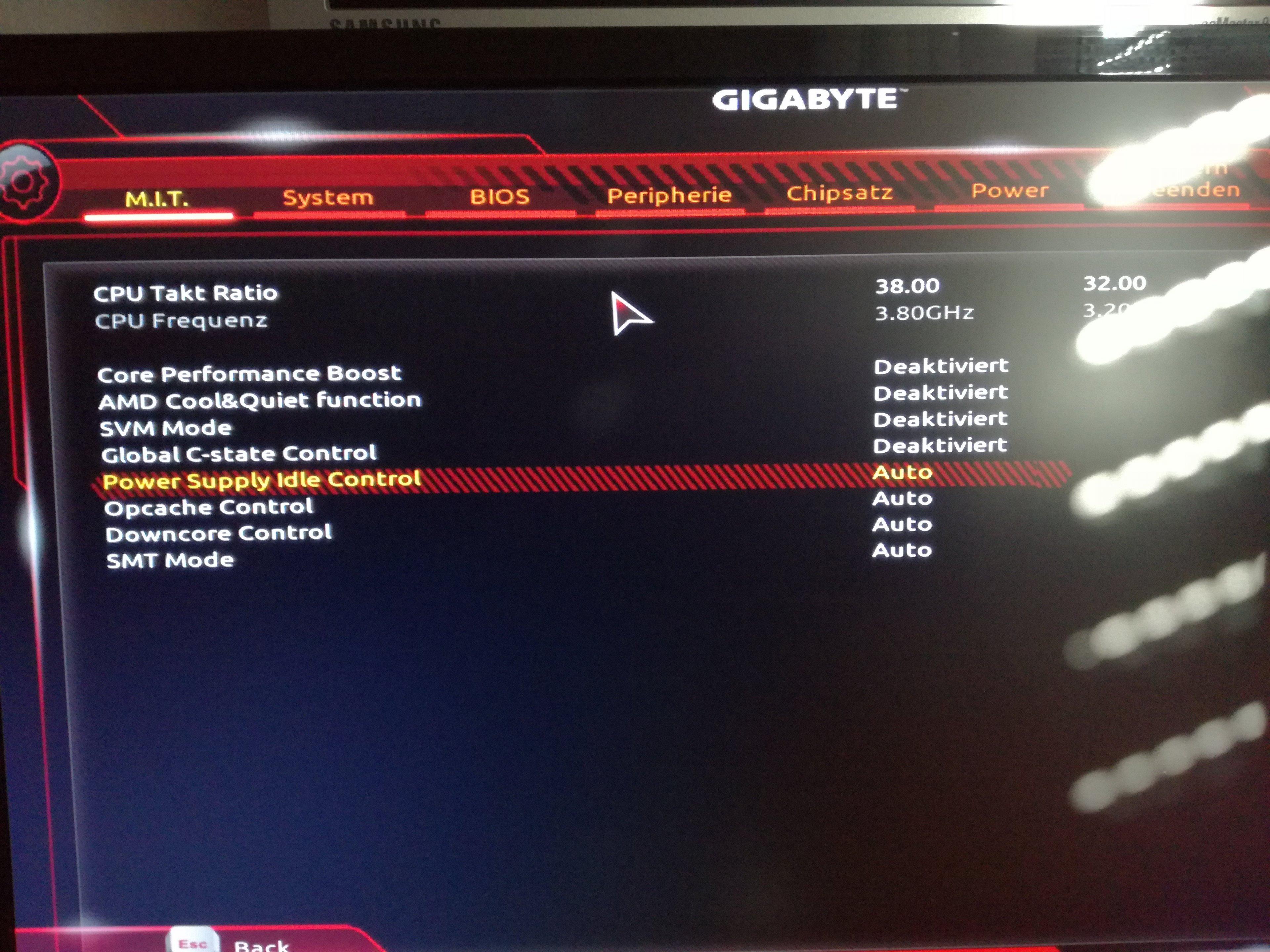 Mit Gigabyte X470 AORUS ULTRA GAMING übertakten | ComputerBase Forum