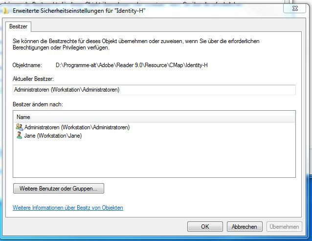 Datei kann nicht gelöscht werden schreibgeschützt