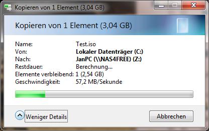 Klicke auf die Grafik für eine größere Ansicht  Name:Kopieren auf NAS 2GB RAM.png Hits:8107 Größe:58,4 KB ID:336740