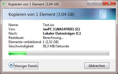 Klicke auf die Grafik für eine größere Ansicht  Name:Lesen von NAS 2GB RAM.png Hits:7907 Größe:38,8 KB ID:336741