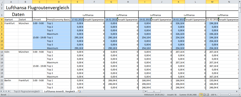 Excel - Für Diagramm nur jede zweite Spalte benutzen | ComputerBase ...