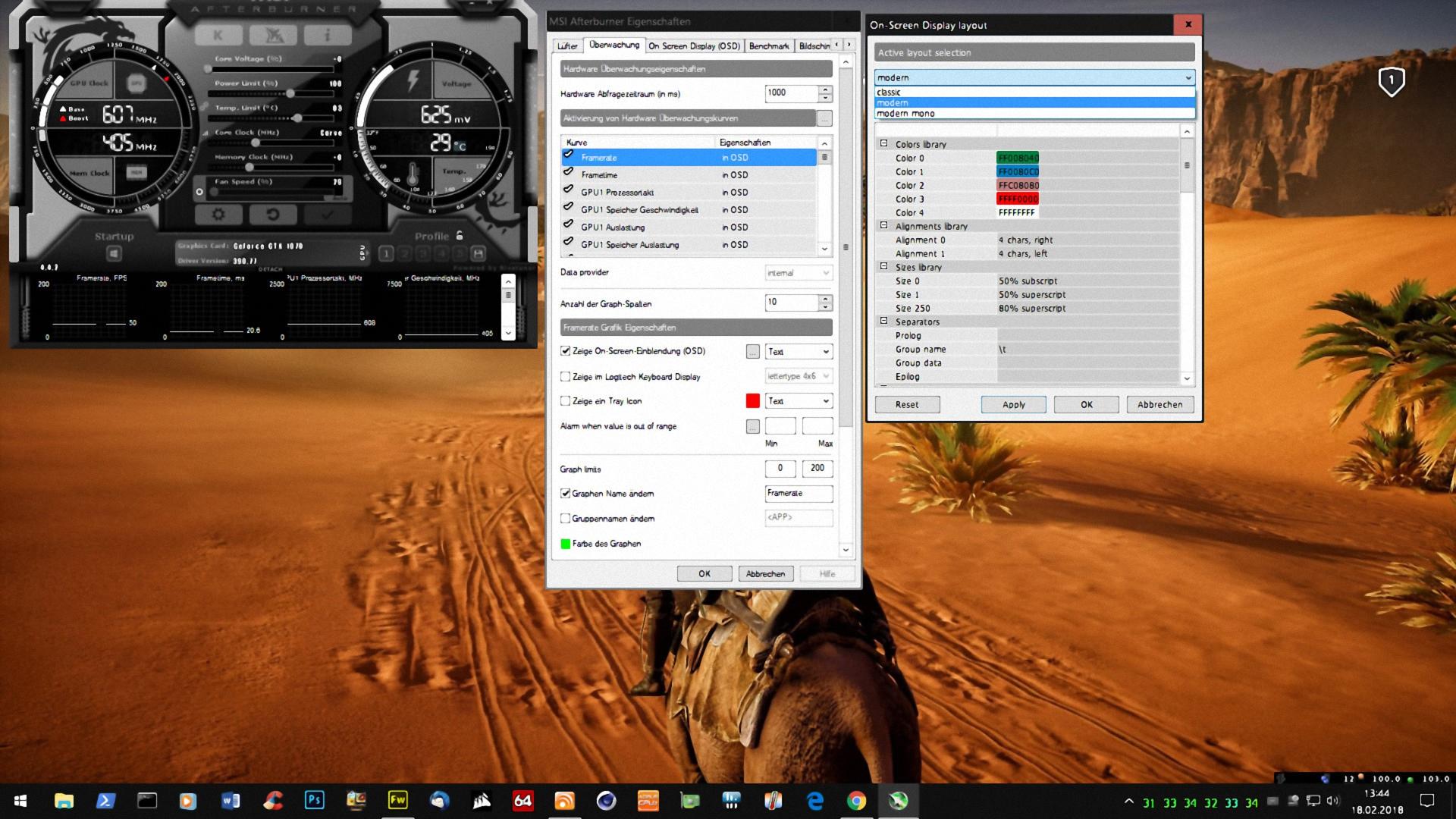 Klicke auf die Grafik für eine größere Ansicht  Name:MSI Afterburner OSD Einstellung -2-.jpg Hits:13 Größe:1,45 MB ID:667376