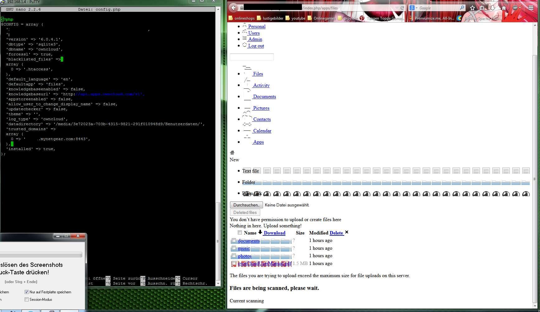 Linuxopenmediavault ssl zertifikat fr owncloud computerbase forum klicke auf die grafik fr eine grere ansicht name omkktmzq85g hits 221 1betcityfo Image collections