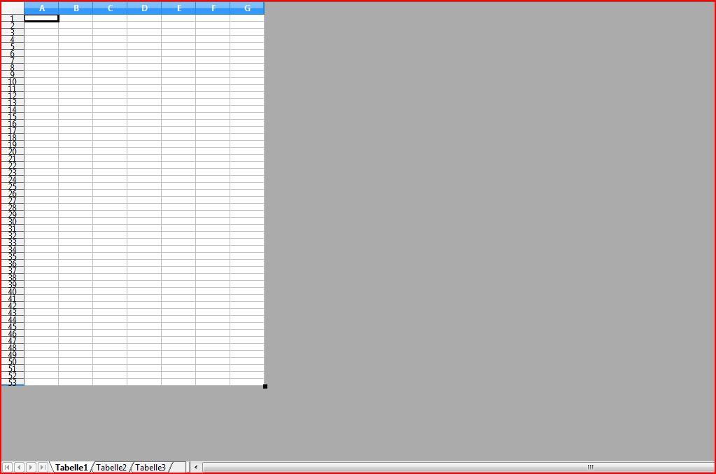 Excel Seite ausgrauen | ComputerBase Forum