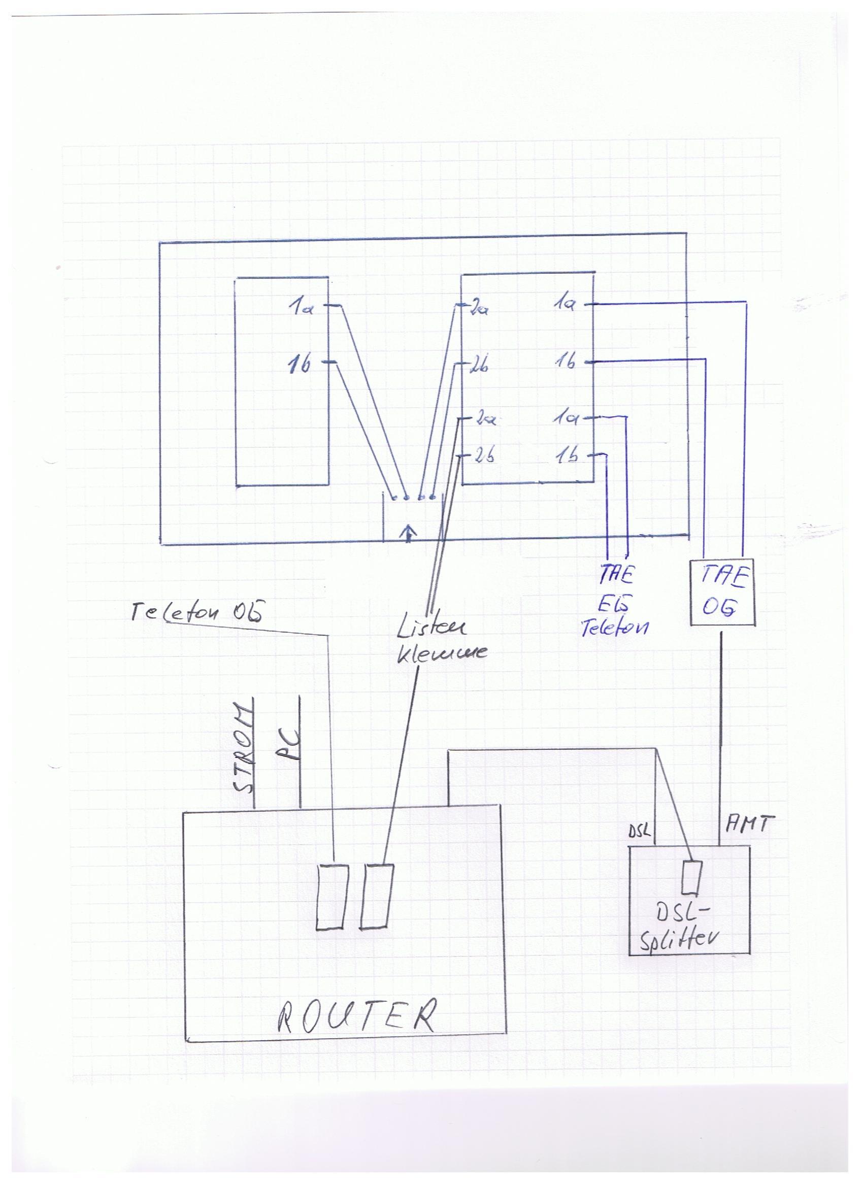 Wunderbar Dsl Schaltplan Fotos - Die Besten Elektrischen Schaltplan ...