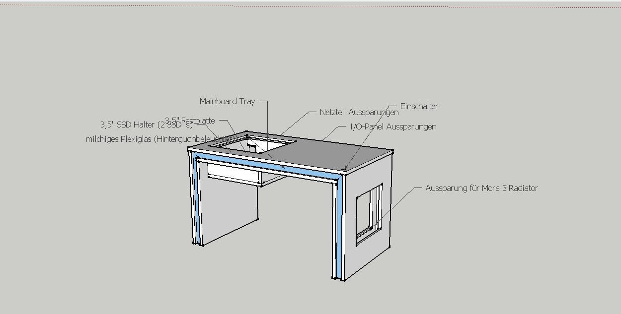 monitor im tisch einbauen dekoration bild idee. Black Bedroom Furniture Sets. Home Design Ideas