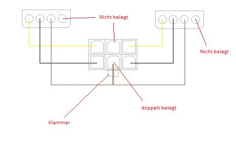 4-pin Molex auf 6-pin PCIe-Kabek selber bauen | ComputerBase Forum