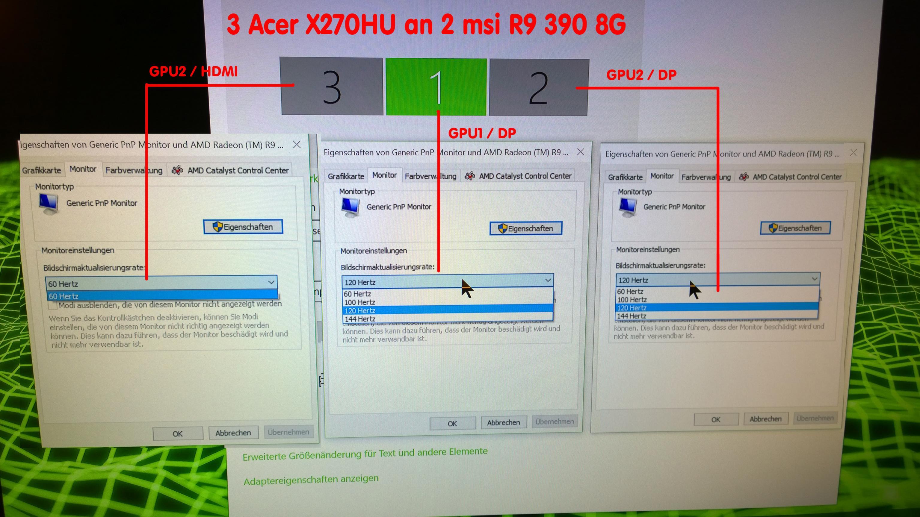 144HZ einstellen | ComputerBase Forum