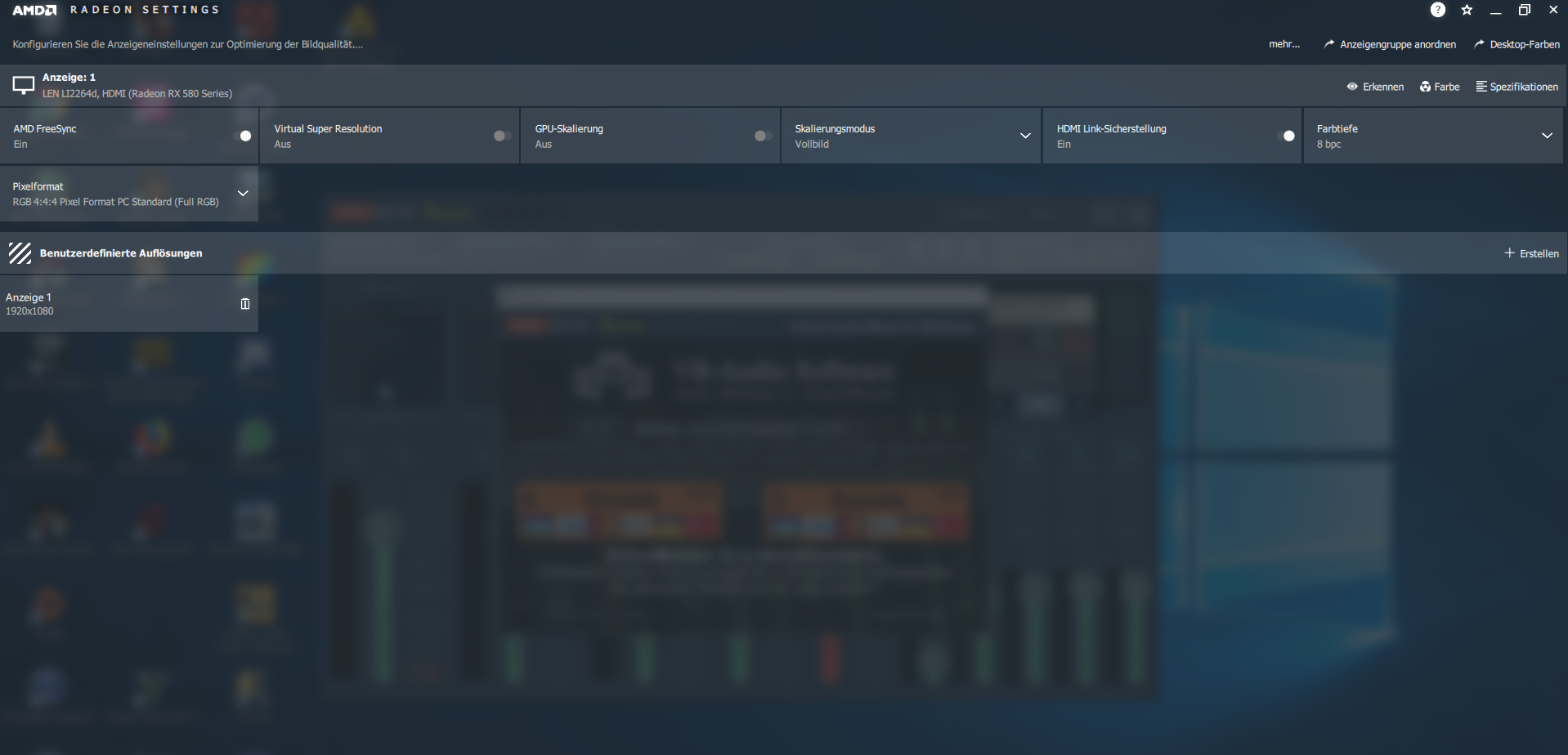 Klicke auf die Grafik für eine größere Ansicht  Name:Radeon Settings 2.PNG Hits:14 Größe:608,5 KB ID:668778