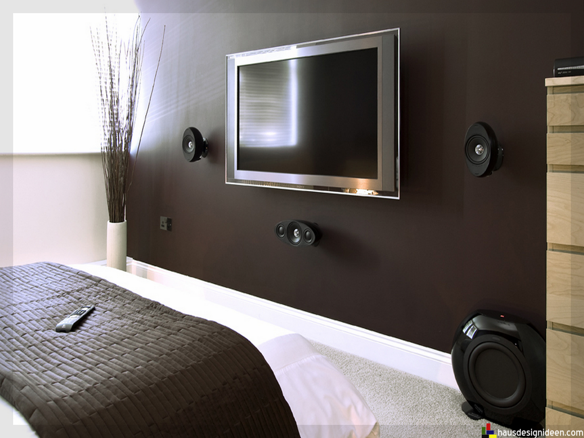 tv im schlafzimmer. Black Bedroom Furniture Sets. Home Design Ideas