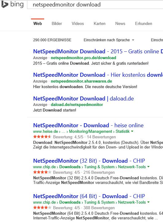 Suche: NetSpeedMonitor Alternative für Windows 10 | ComputerBase Forum