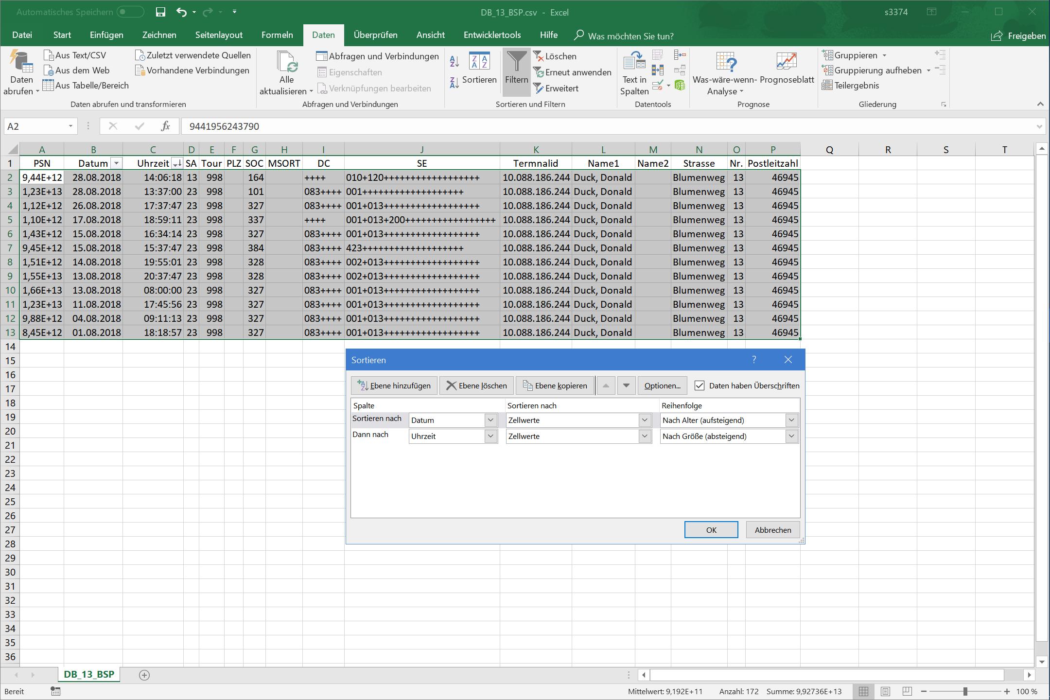 Office365 mehrere CSV zusammenführen mit VBA | ComputerBase Forum