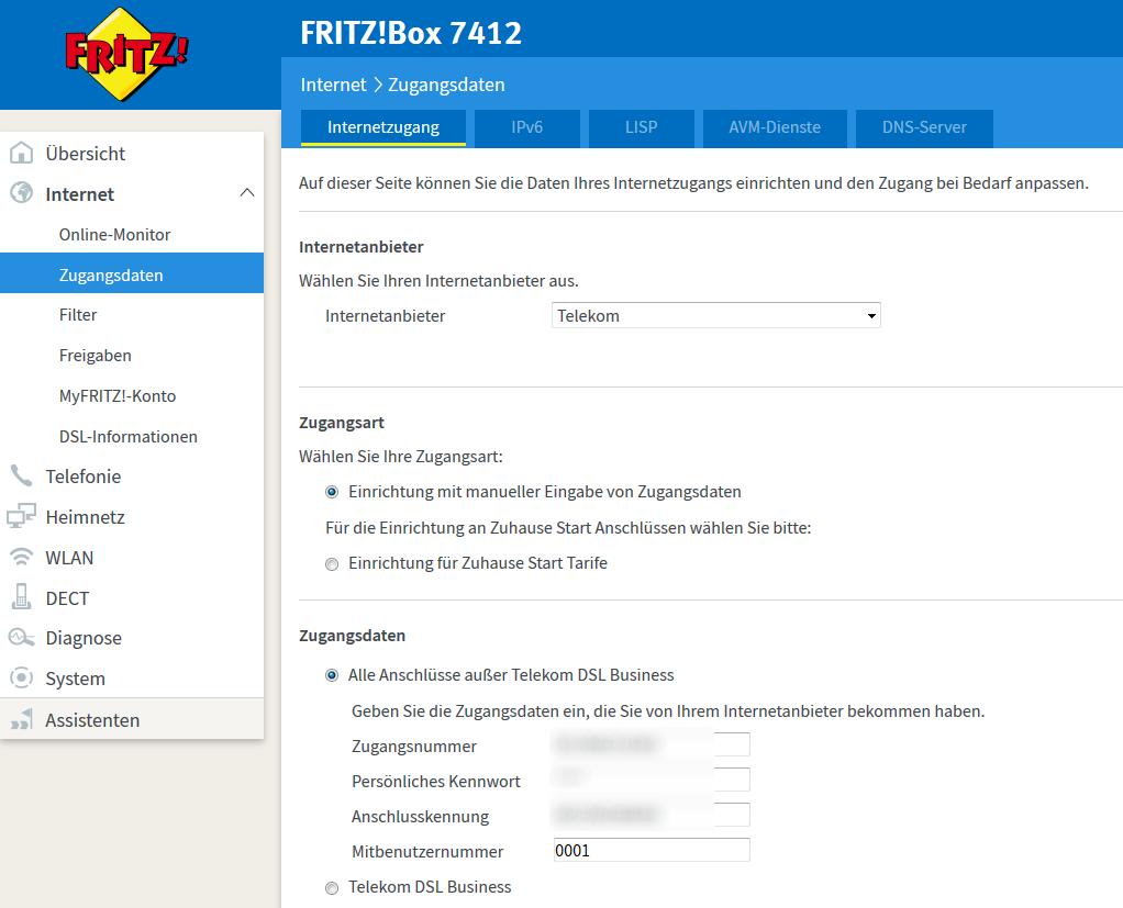 Fritzbox Wireguard