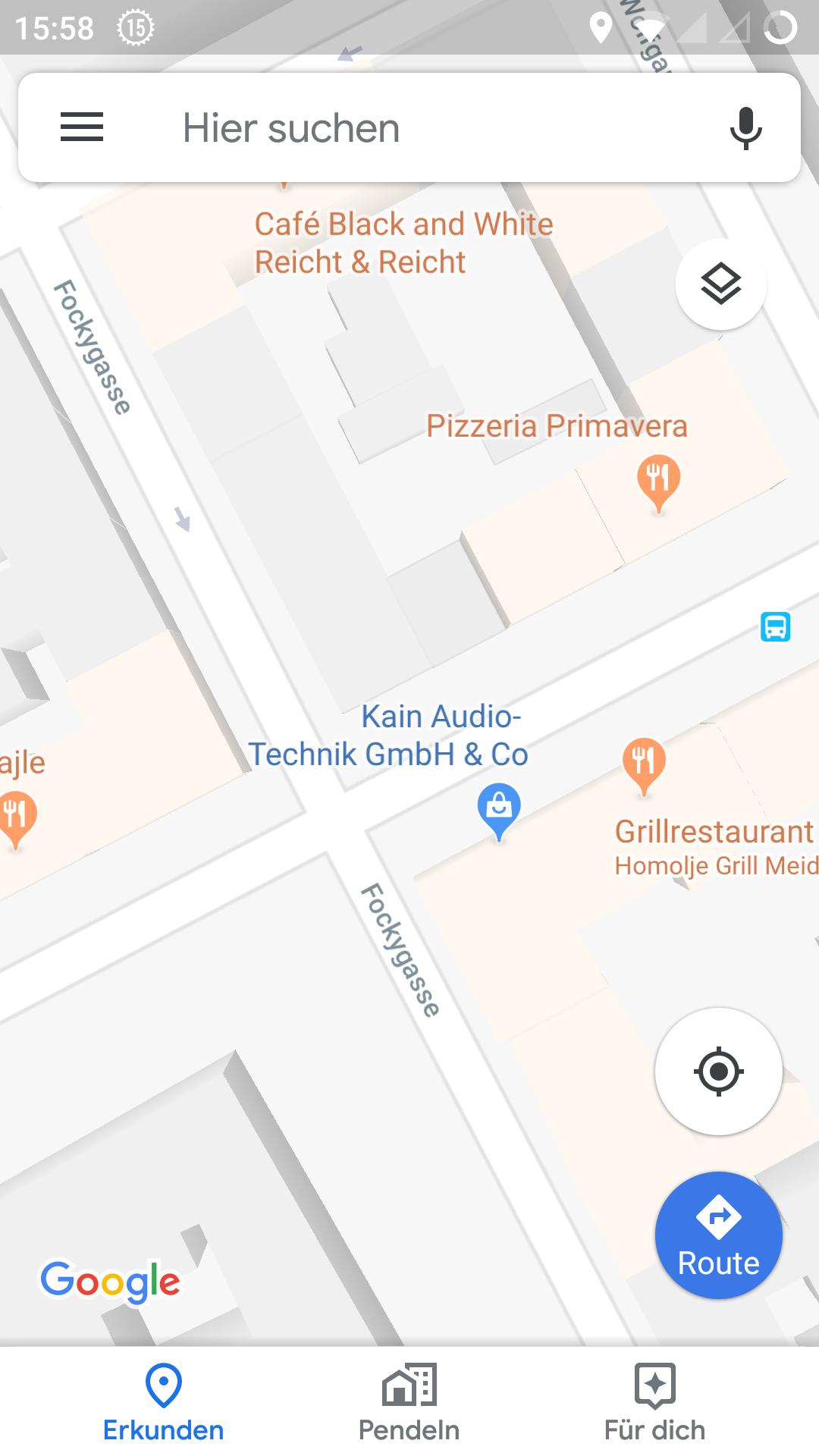 Google Maps zeigt Hausnummern nicht | ComputerBase Forum