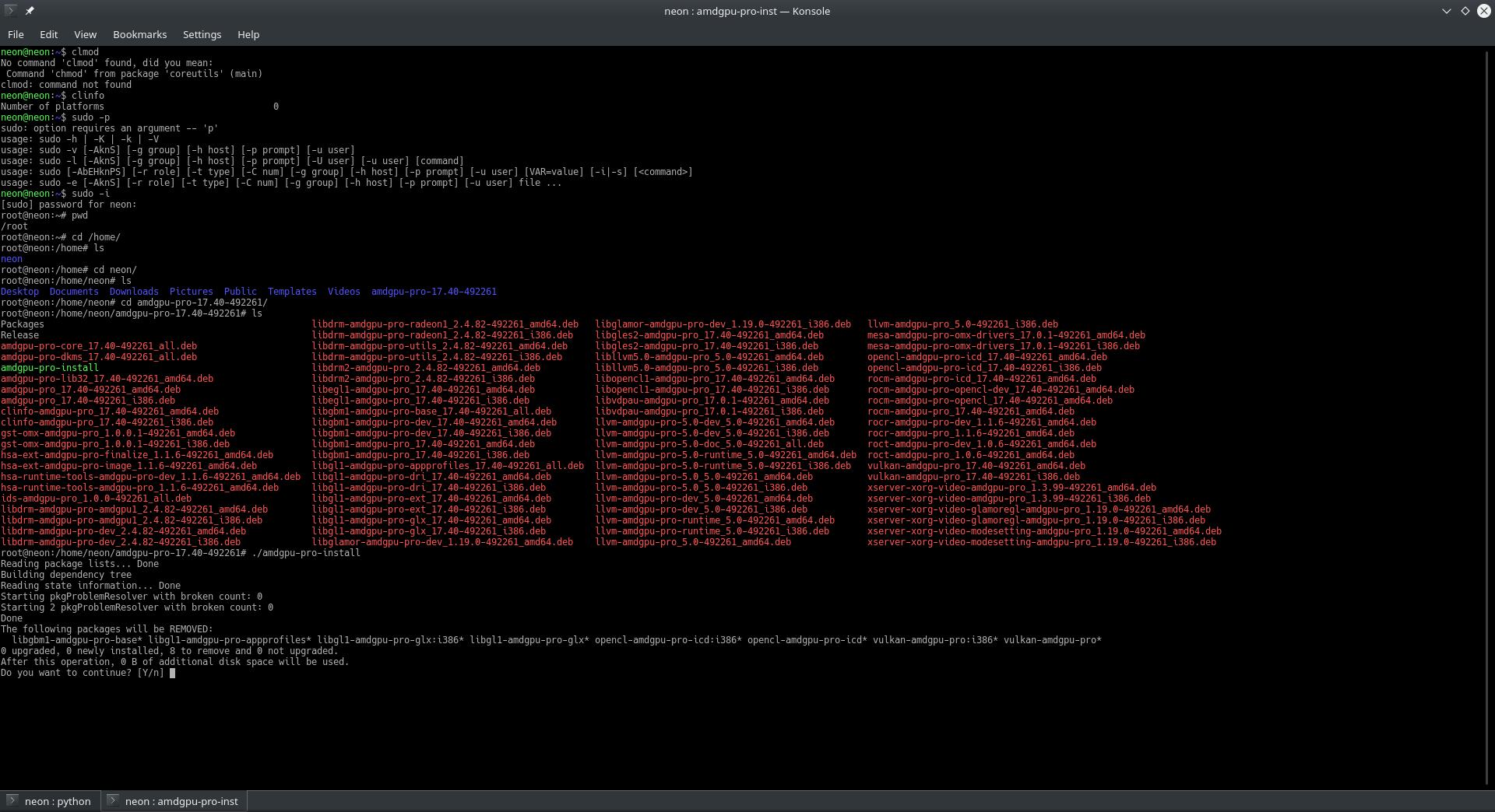 Alternativer Grafik-Treiber für AMD auf ubuntu 16 04| Seite 2